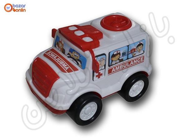 ماشین بازی طرح آمبولانس