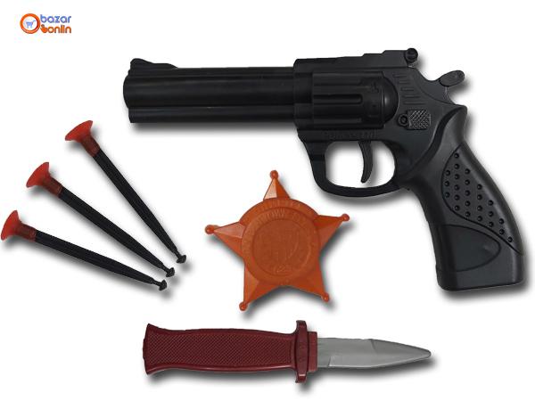مجموعه هفتیر پلیس 110 پرتابی سلفونی