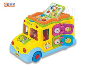 اتوبوس مدرسه موزیکال هولی تویز کد 796