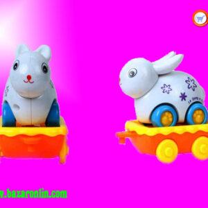 قطار اسباب بازی شنگ چوان مدل 3 واگنه