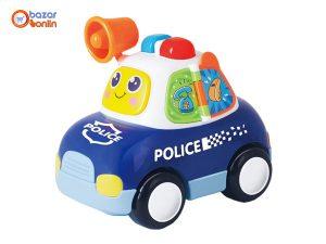 ماشین پلیس موزیکال هولی تویز مدل 6108