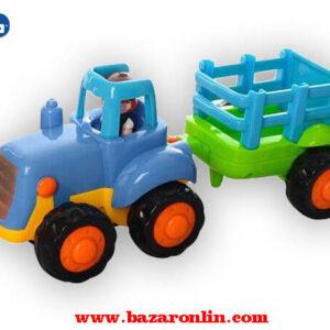 تراکتور مزرعه هولا تویز مدل 326AB اسباب بازی هولا تویز