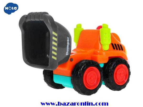 کامیون کمپرسی هولی تویز مدل 3116C اسباب بازی هولی تویز