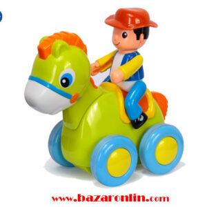 اسب سوار قدرتی هولی تویز مدل 366C اسباب بازی هولا تویز