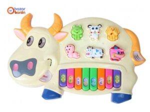پیانو موزیکال طرح گاو