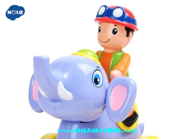 فیل سوار قدرتی هولی تویز مدل 366A اسباب بازی هولی تویز