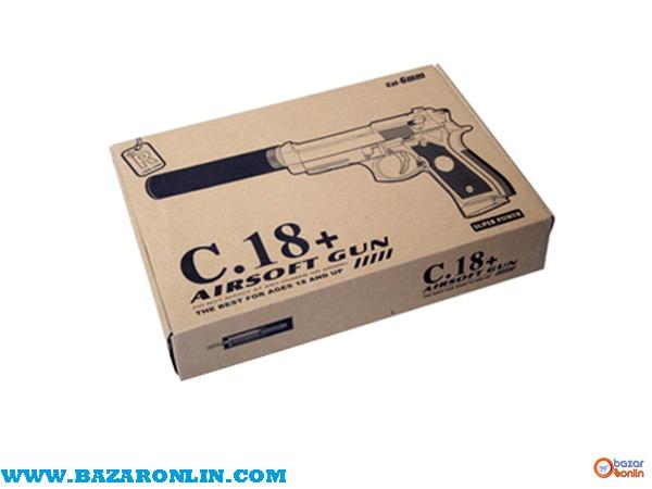 کلت ساچمه ای ایرسافت مدل +C18 اسباب بازی