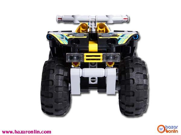 لگو موتور چهارچرخ جی سی مدل 3416