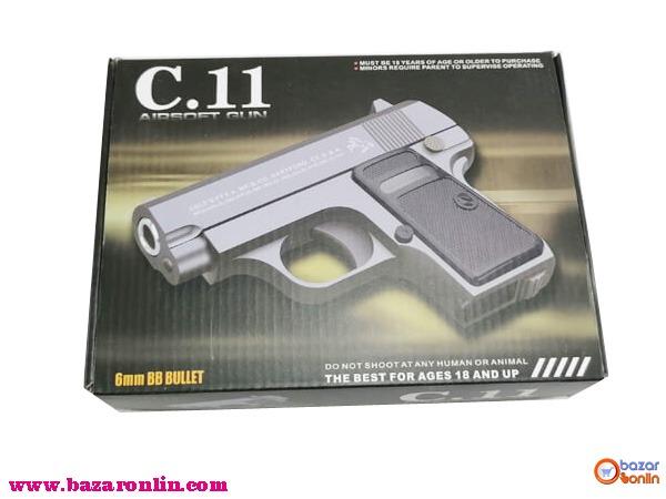 کلت ساچمه ای ایرسافت مدل C11 اسباب بازی
