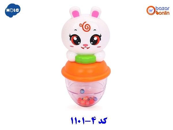 جغجغه خرگوش هولا تویز مدل 4-1101