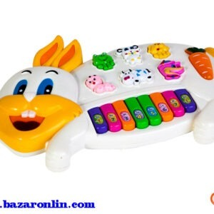 پیانو موزیکال طرح خرگوش مدل 3300
