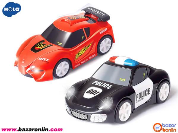 ماشین پلیس لمسی هولا تویز مدل 6106A