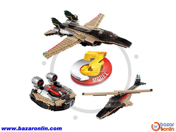 لگو 3 طرح جنگنده جی سی مدل 3123